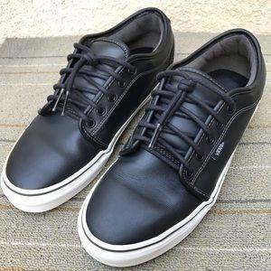 Vans Chukka Low Black Leather